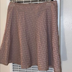 A line skirt 100%cotton